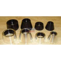 3.0 inch - 38mm Quick Change Tailcone Motor Retainer (Black)