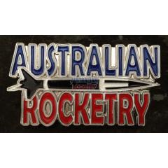 Australian Rocketry Lapel Pin