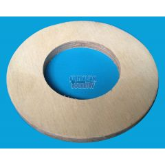 6.0 inch - 3.0 inch (75mm) Coupler Centering Ring
