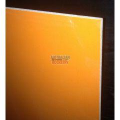 G10 1.6mm (.062 inch) Thick - 30x30cm (1x1foot) Orange