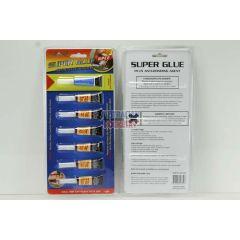 7piece Super Glue and Debonder pack