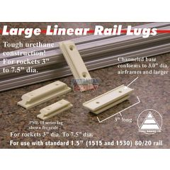 Linear Launch Rail Lugs 1515- 3 Pairs(6 in total)
