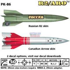 5.5 inch R2/ARO