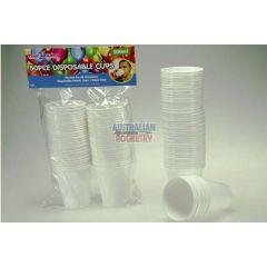 50piece Disposable Plastic Cups