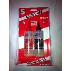 5 Minute Quik-Cure EPOXY - 255grams