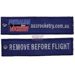 Remove Before Flight tag (Blue)