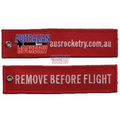 Remove Before Flight tag (Red)