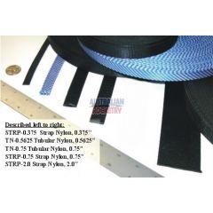 Strap Nylon 0.375 inch (per metre)